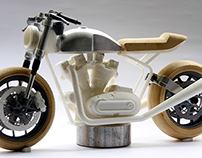 Cafe Racer Scale Model