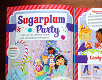 American Girl Magazine Illustrated Features