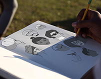 Black Heritage Festival Sketches