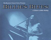 Billie's Blues Concert Poster