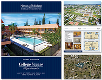 College Square Apartments 44-Page Brochure