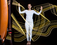 Robotic lightpainting in fashion and architecture