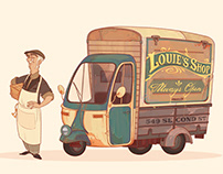 """Louie's shop"" car concept"