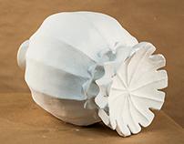 Fall Foundation Year: Plaster Poppy Pod
