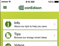 "Con Edison ""Ways to Save"" iPhone App"