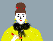 ZUKKER: Berlin Fashion Week Illustrations 2015