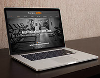 Webdesign - Fitness Time