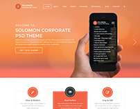 Solomon PSD Theme