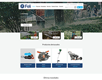 Felisa - eCommerce website