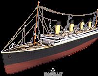 Titanic Exterior Model