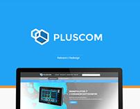 Pluscom website