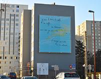 Oeuvre monumentale pour la ville de Petit Quevil