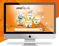 Interactive web design- Wanasa Land