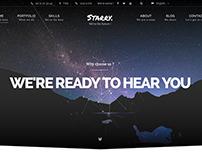 Starry - Creative & Easy WordPress Theme