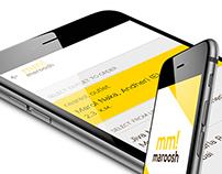 Maroosh Mobile App UI  Design