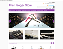 The Hanger Store ebay store design