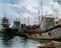 Rusty ships
