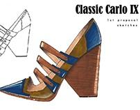 Carlo IX - Footwear design project
