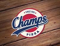 Champs Pizza Logo