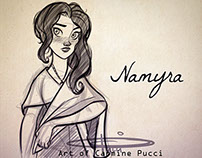 Namyra - Lunch sketch