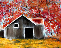 Autumn Barn