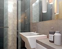 projekt małej łazienki w Bielsku - Białej