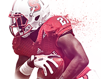 NC State Football Graphic