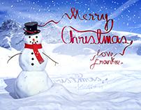 Christmas Snowman - 2012