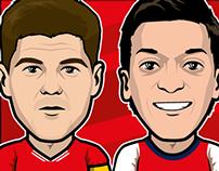 Liverpool FC x Arsenal FC 2013/2014