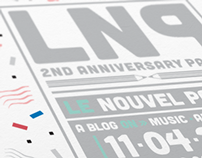 Le Nouvel Papier 2nd Anniversary Party