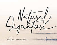 FREE | Natural Signature Modern Calligraphy