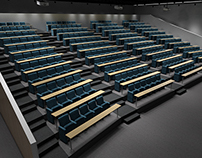 Auditorium - 3D freelance