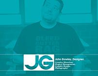 Resume Design - John Gawley