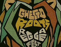 Ghetto Roots Reggae Fest Poster