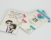 Wedding Invitation of me and my wife!