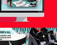 Web banners for some online stores