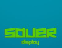 Sauer Typeface