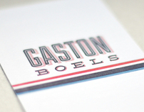 Letterpress card for Birth