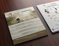 Business flyer for GoldenEngineers