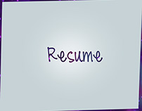 Resume Self Promotion