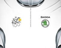 SKODA - Partner of The Tour de France White Jersey