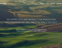 Golf Club Website Redesign