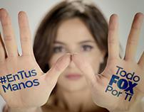 #EnTusManos Todo Fox Por Ti - tv spot