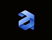 Unused Logo mark, letter A