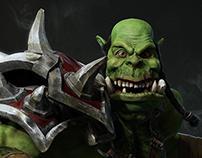Orckish Warrior - Tutorial collection
