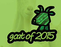 Goat of 2015. DIY paper toys