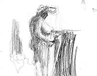 Austria Nero - Life Drawings