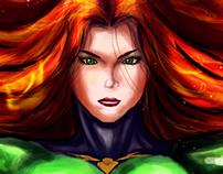Phoenix Marvel - SpeedPaint Fanart