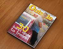 Capa de Revista Outside