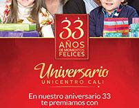 Aniversario Unicentro